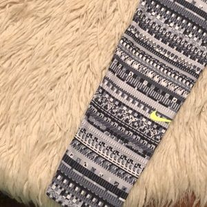 Nike Pants - Like New-Nike Pro-lightly lined full length tights